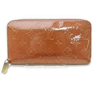 Auth Louis Vuitton Zippy Wallet Pink #N4928V71
